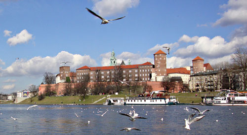 Cracovie-Vistula-Wawel
