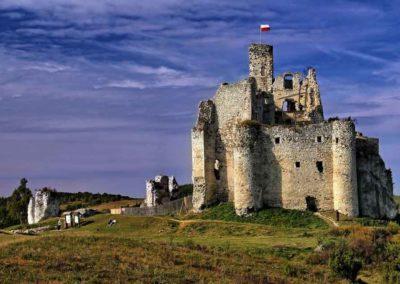 Château Mirów-Pologne- kloejny zamek na szlaku Orlich Gniazd.