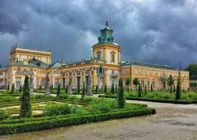 Pałac królewski w Wilanowie - zbudowany dla króła Jana III Sobieskiego i Marii Kazimiery